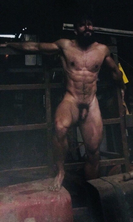 Love when I wander upon Dad in the barn and his Jock is nowhere to be found
