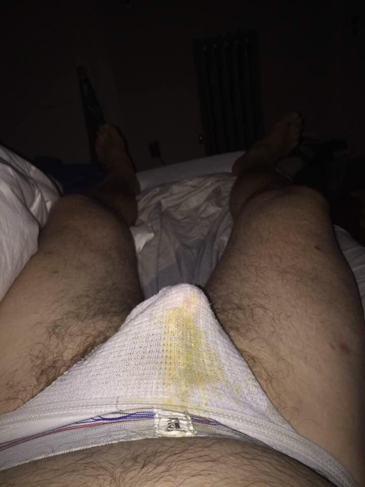 Supposed to be lights-out but those jock stains were glowing in the dark!