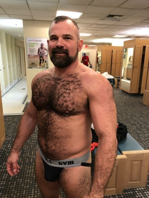 Carpet chested Paul knew that I had a crush and always talked to me while I got undressed…. slowly!