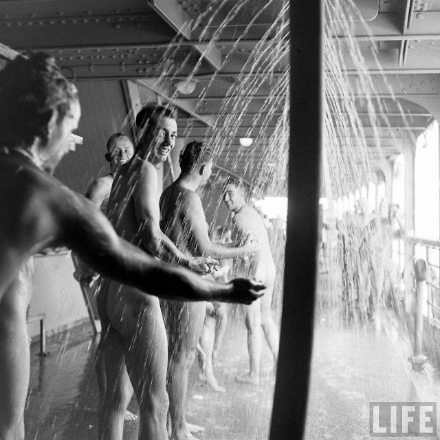Since time began, men have been waiting for the hot water to get to the shower.