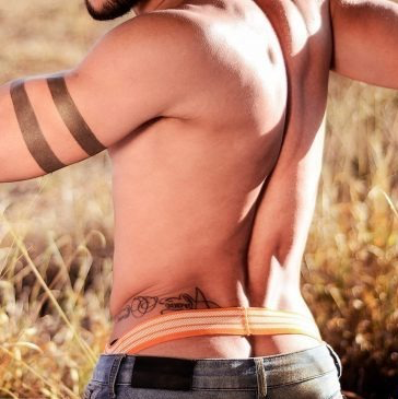 I noticed several changes in my grown son when he returned to the farm. More muscle, tattoos, and wearing a jock. I made the same changes after his mom left.