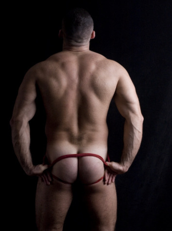I had no idea how sexy my dad looked in a jock! Now I need to figure out how to act on this information.